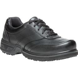 Men's Propet Sheldon Work Shoe Black Leather