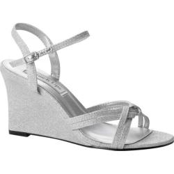 Women's Touch Ups Buffy Wedge Sandal Silver Glitter