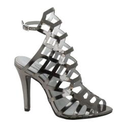 Women's Touch Ups Mercury Cage Sandal Pewter Mirror Patent