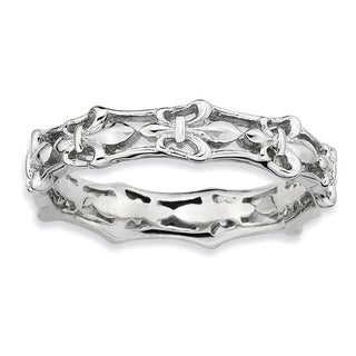 Sterling Silver Affordable Expressions Polished Fleur De Lis Ring