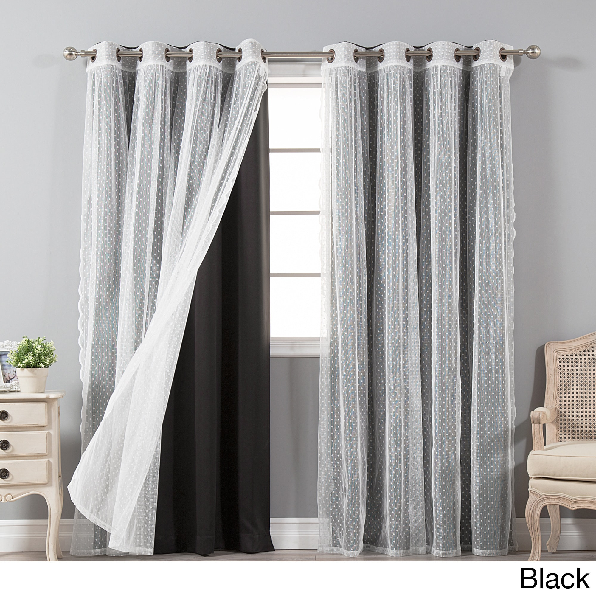 curtain tergaline panel solid treatments grommet reviews curtains wayfair trading pdx ricardo window sheer single