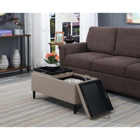 Wondrous Buy Beige Tray Top Ottomans Storage Ottomans Online At Ibusinesslaw Wood Chair Design Ideas Ibusinesslaworg