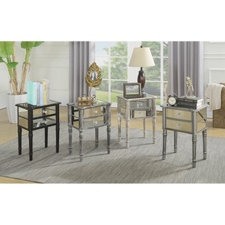 Link to Silver Orchid Talmadge End Table Similar Items in Bedroom Furniture