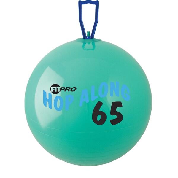 Champion Sports FitPro Hop Along 25.5-inch Green Large Pon Pon Ball