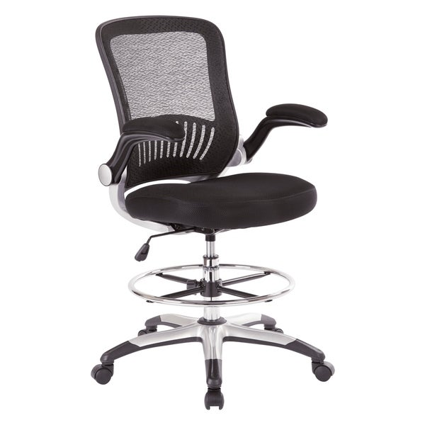 Shop Mesh Back Drafting Chair With Adjustable Foot Ring