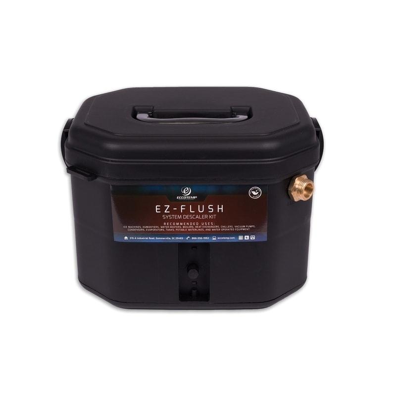Eccotemp EZ-Flush System Descaler Kit (KIT), Black (Plastic)