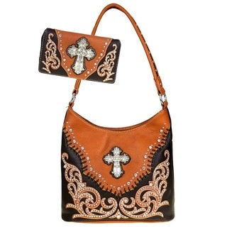 Spiritual Collection Hobo Bag & Wallet Set