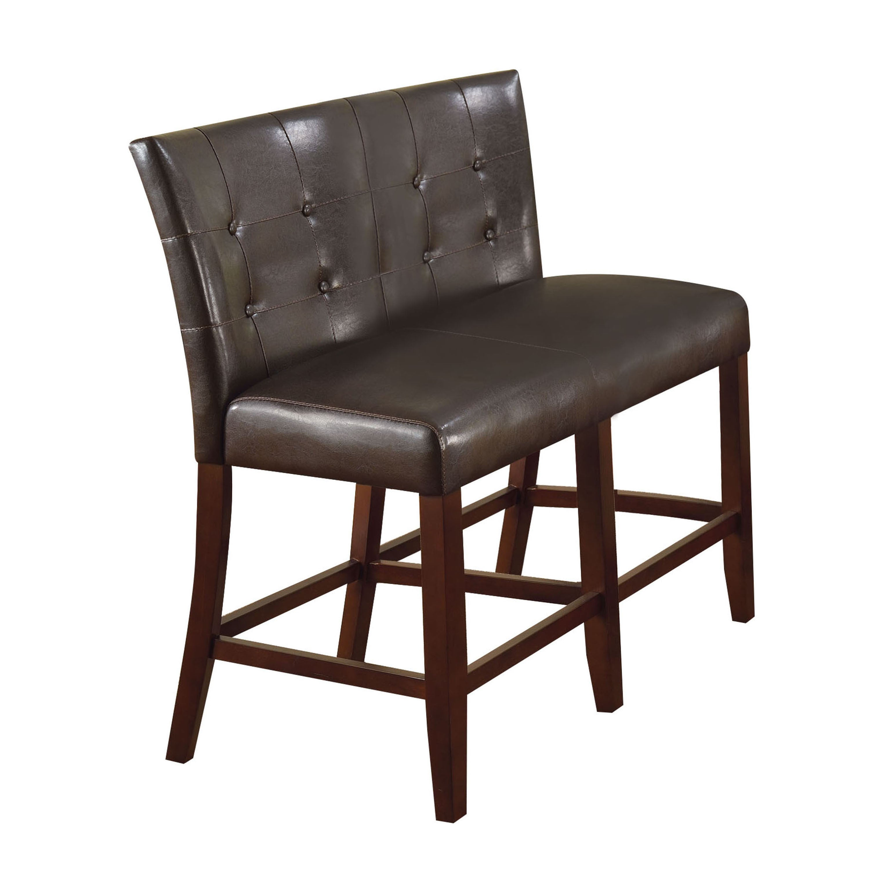 ACME Furniture Bravo Espresso Counter-height Double Chair...