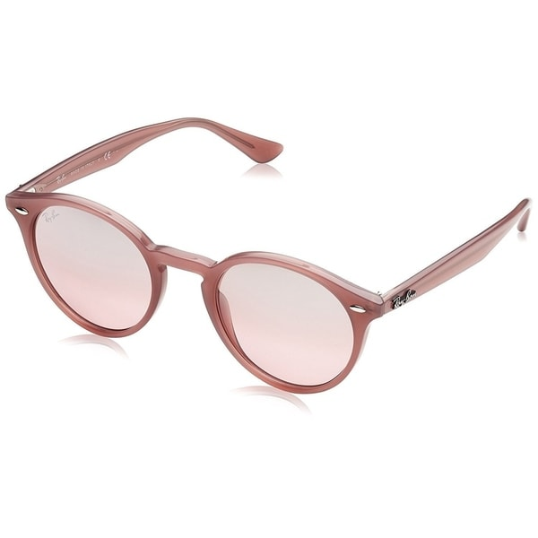 294f0a58e409b Ray-Ban RB2180 Unisex Pink Frame Silver Pink Gradient Mirror 49mm Lens  Sunglasses