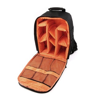 Waterproof Camera Lens Backpack with Padded Dividers