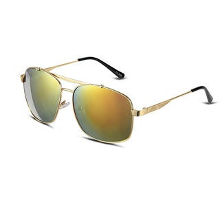 Hakbaho Aluminum Framed Women's Gold Plated Tone Gradient Sunglasses