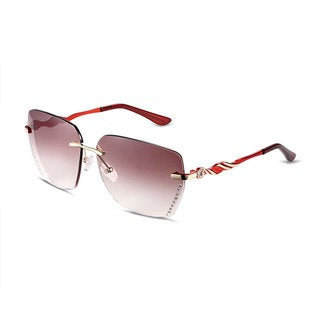 Hakbaho Piston Design Magenta Tone Women's Sunglasses