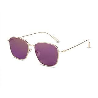 Hakbaho 329 Mixed Plate Sleek Gradient Women's Sunglasses