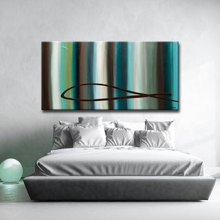 'Le-Onde' Ready2HangArt Canvas by Cguedez