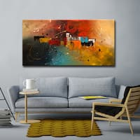 'Celebration' Ready2HangArt Canvas by Cguedez