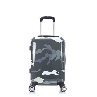 InUSA 20-Inch Lightweight Hardside Spinner Carry-on Luggage