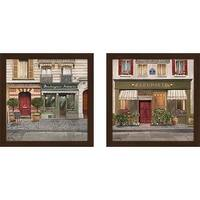 """French Store II"" Wall Art Set of 2, Matching Set"
