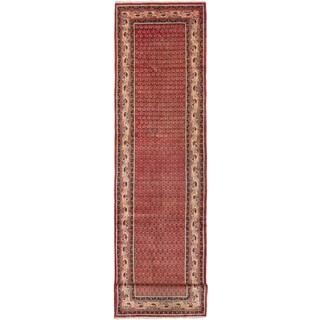 ecarpetgallery Arak Red Wool Rug (3'3 x 14'2)