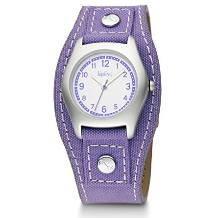 Kipling Kids Captain Purple Quartz Watch