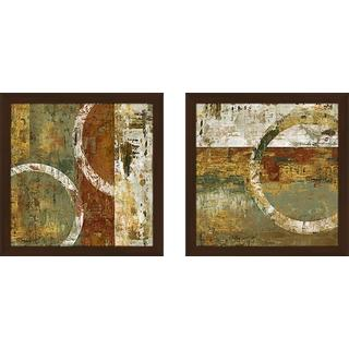 """Peeling Paint II"" Wall Art Set of 2, Matching Set"