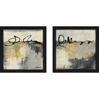 """Lyrical IV"" Wall Art Set of 2, Matching Set"