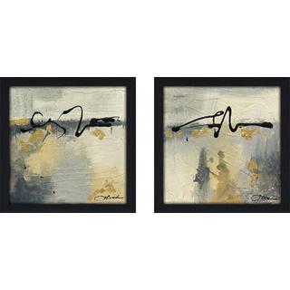 """""""Lyrical II"""" Wall Art Set of 2, Matching Set"""