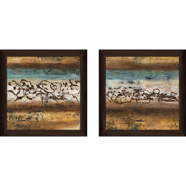 """Energy I"" Wall Art Set of 2, Matching Set"
