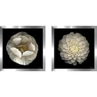 """Dahlia 22"" Wall Art Set of 2, Matching Set"