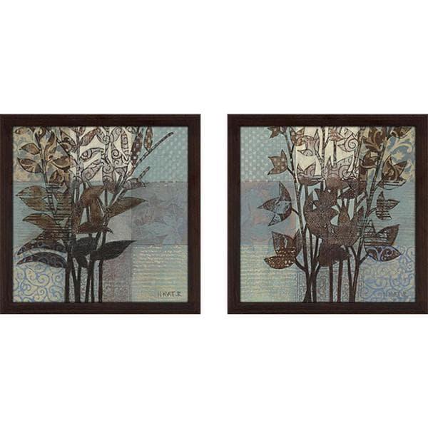 """Western Breeze"" Wall Art Set of 2, Matching Set"