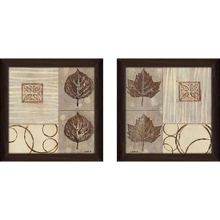 """Nature's Design"" Wall Art Set of 2, Matching Set"