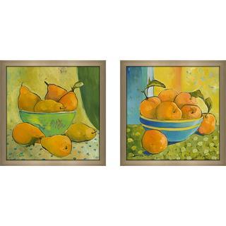"""Kitchen Still Life III"" Wall Art Set of 2, Matching Set"