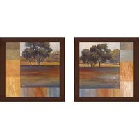 """Rhythms of Landscape"" Wall Art Set of 2, Matching Set"