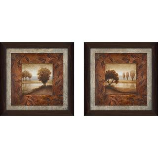 """Calming Landscape"" Wall Art Set of 2, Matching Set"
