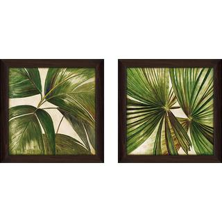 """""""Through the Leaves"""" Wall Art Set of 2, Matching Set"""