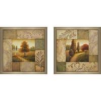 """""""Warm Season"""" Wall Art Set of 2, Matching Set"""