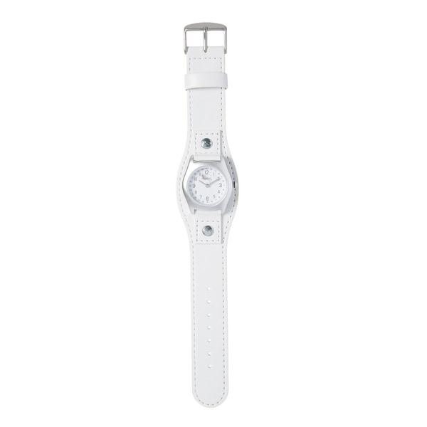 Kipling Kids Captain White Leather Quartz Watch. Opens flyout.
