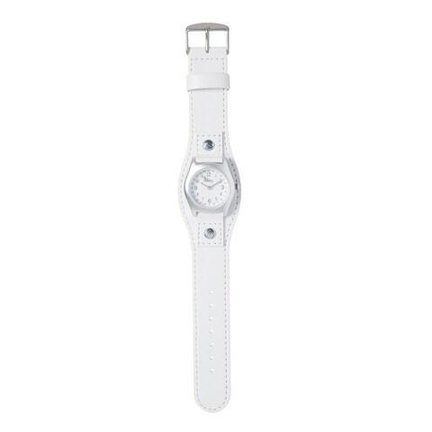 Kipling Kids Captain White Leather Quartz Watch