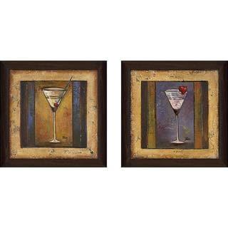 """""""Coctelito II"""" Wall Art Set of 2, Matching Set"""