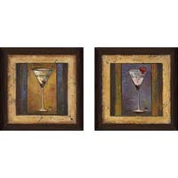"""Coctelito II"" Wall Art Set of 2, Matching Set"