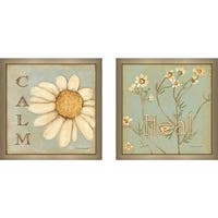 """Heal (Flower)"" Wall Art Set of 2, Matching Set"