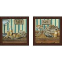 """Spa"" Wall Art Set of 2, Matching Set"