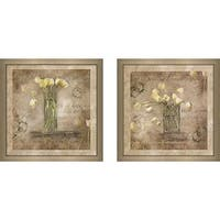 """Nothing Love Cannot Face"" Wall Art Set of 2, Matching Set"