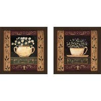 """Flower Pot II"" Wall Art Set of 2, Matching Set"