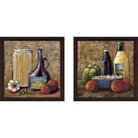 """Rustic Kitchen IV"" Wall Art Set of 2, Matching Set"