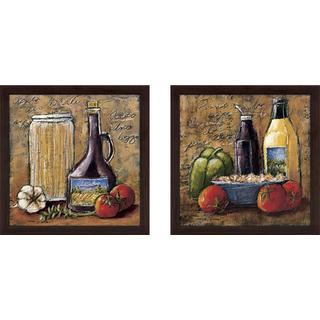 """""""Rustic Kitchen IV"""" Wall Art Set of 2, Matching Set"""