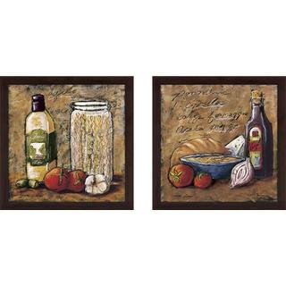 """""""Rustic Kitchen II"""" Wall Art Set of 2, Matching Set"""