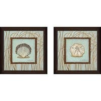 """Coastal Escape"" Wall Art Set of 2, Matching Set"