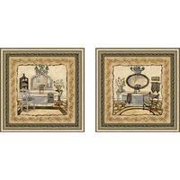 """Chandelier Elegance"" Wall Art Set of 2, Matching Set"