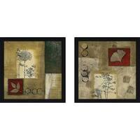 """""""Autumn Trail"""" Wall Art Set of 2, Matching Set"""