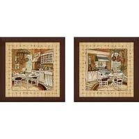 """Kitchen Delight"" Wall Art Set of 2, Matching Set"